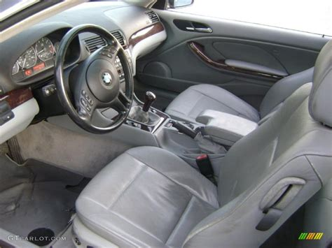 2001 Bmw 3 Series Interior by Grey Interior 2001 Bmw 3 Series 330i Coupe Photo 37916498