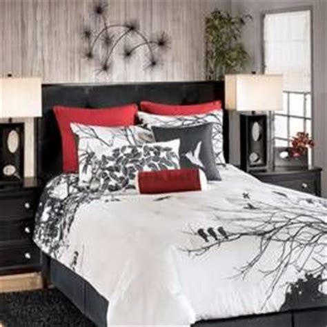red black and white comforter set pinterest the world s catalog of ideas