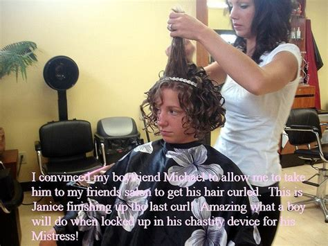 forced feminine haircuts in the beauty salon 35 best images about forced salon bondage on pinterest