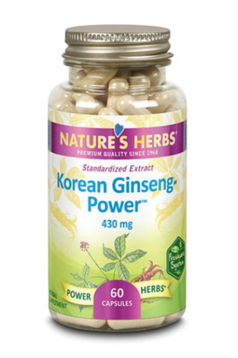 Herbal Ginseng Asli Korea korean ginseng power herb 60 ct 19 35ea from zand