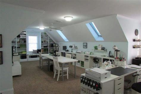 attic craft room ideas 25 best ideas about attic craft rooms on in