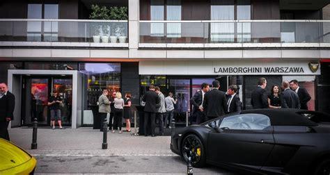 Lamborghini W Warszawie by Byliśmi Otwarcie Salonu Lamborghini Warszawa