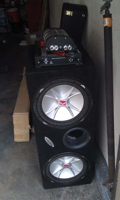 do you need capacitor for subs 12 kicker subz with custom box and and capacitor