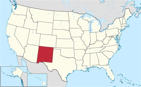 united states map new mexico file new mexico in united states svg wikimedia commons