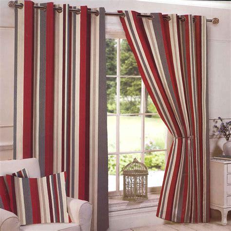 b q curtains ready made red brown cream eyelet curtains integralbook com