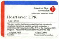 cpr card template cpr card