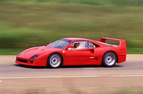 Ferrari F 40 by Ferrari F40 1987 1992 Review 2017 Autocar
