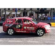 Le Nouveau Skoda Kodiaq &224 Paris Lors Du Tour De France
