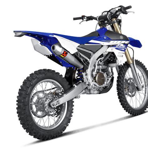 Akrapovic Stenlis akrapovic stainless exhaust system yamaha wrf 450 2016 current dirtbikexpress