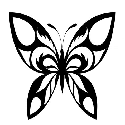 butterfly silhouette black motif free stock photo public
