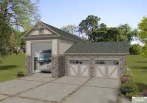 Rv Garage Designs Rv Garage 3070 The House Designers