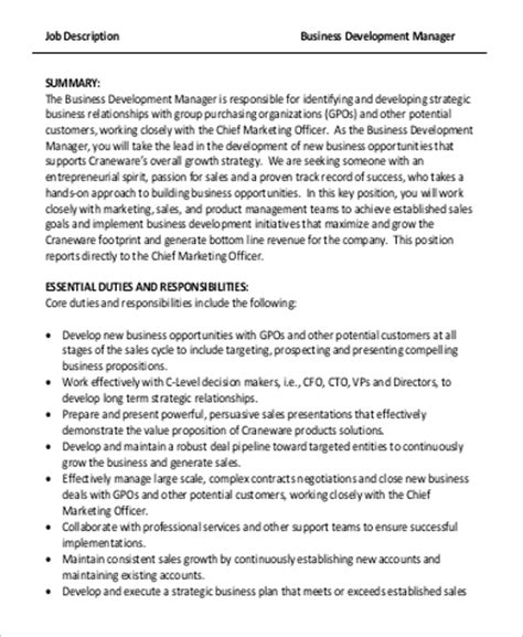 commercial manager description commercial manager responsibilities