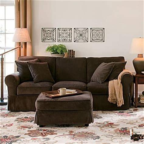 pottery barn couch pottery barn basic sofa look 4 less