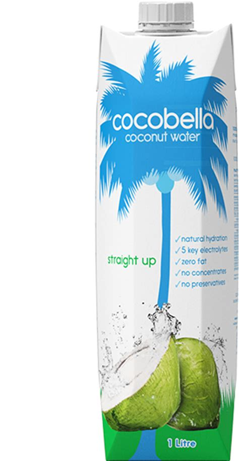 Shelf Of Coconut Water by 1 Litre Coconut Water Up