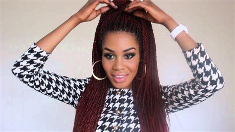 ways  style senegalese twists youtube