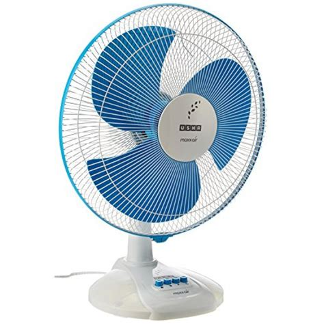 Home Decor Stores India Usha Maxx Air 400mm Table Fan Blue