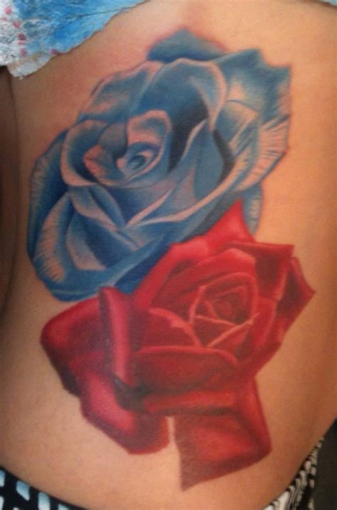 red white and blue rose tattoo 194 best images about tattoos on a compass