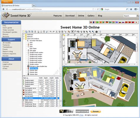 gioco arredare casa virtuale sweet home 3d screenshot 1