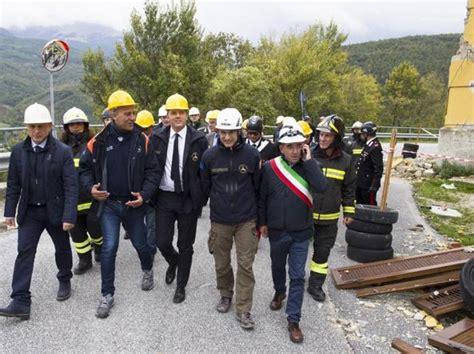 ultime notizie consiglio dei ministri terremoto approvato il decreto per la ricostruzione