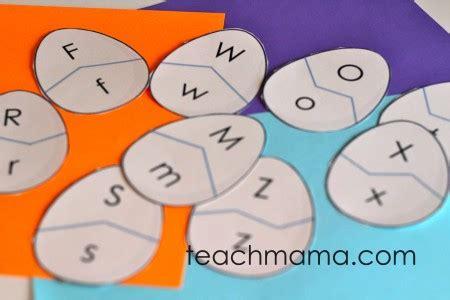 printable alphabet egg hunt alphabet egg hunt uppercase and lowercase letter match