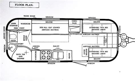 airstream travel trailer floor plans 98 best images about vintage travel trailers airstream