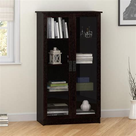 Ameriwood Glass Door Bookcase 25 Best Ideas About Glass Bookcase On Bookcases Ikea Billy And Ikea Billy Hack