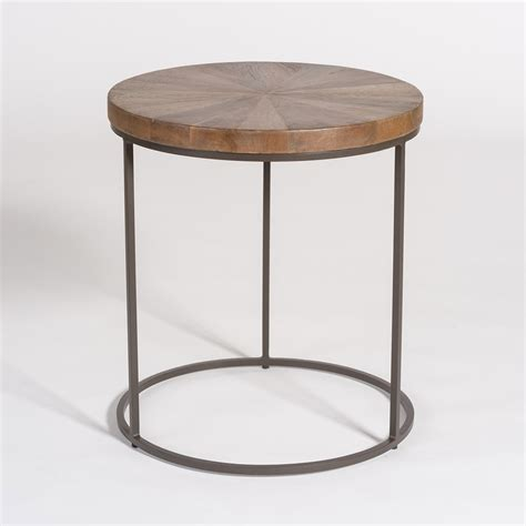 accent end table kingston accent table alder tweed furniture