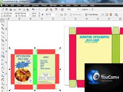 membuat poster lewat corel draw membuat design kemasan dengan corel draw youtube