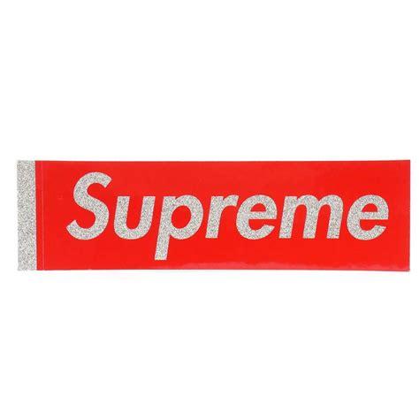 supreme web store box logo supreme sticker