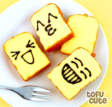 Squishy Toast by Buy Squishy Scented Emoticon Toast Slice Phone Charm At