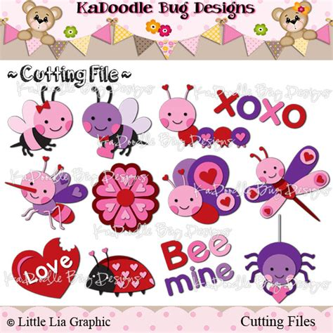 ka doodlebug designs insects kadoodle bug designs cut files digi sts