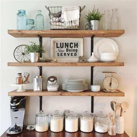 Kitchen Shelving Ideas Pinterest 1000 Ideas About Open Shelf Kitchen On Pinterest Open