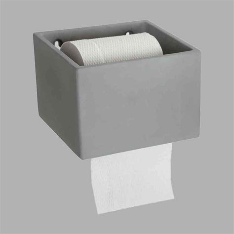 Bathroom Accessories Toilet Roll Holder Concrete Toilet Roll Holder Bathroom Accessories Future And Found Election