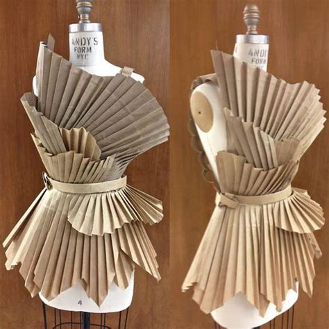 How To Make Paper Costumes - 20 diy paper bag costume ideas hative