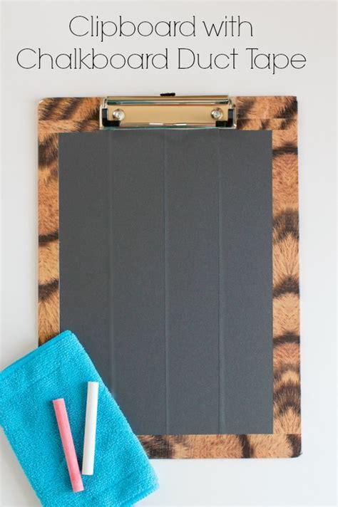 diy clipboards  chalkboard  dry erase tape