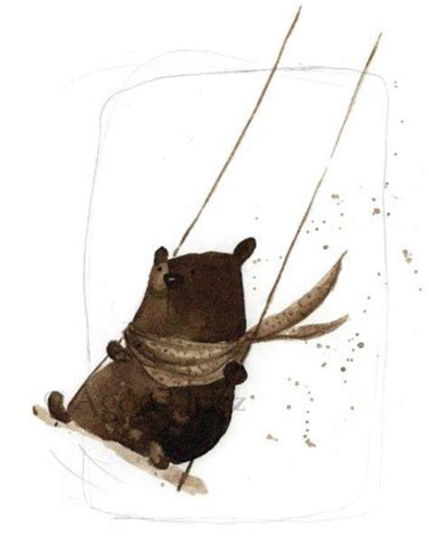 bear swing bear on swing blog swinging swinging bear bear medve