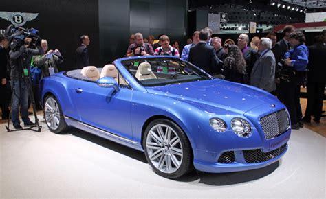 light blue convertible bentley bentley continental gt speed convertible is a blue blooded