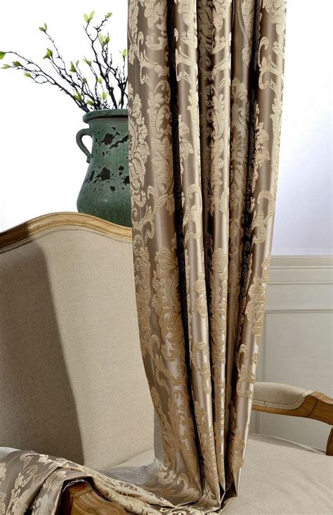 fabric for blackout curtains fabric blackout curtains for living room luxury jacquard