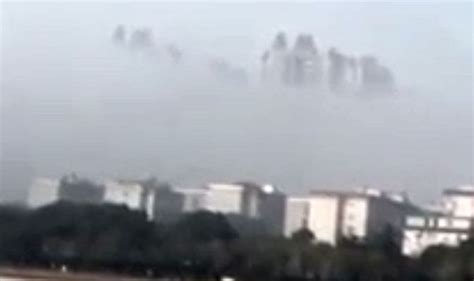A Floating City floating city seen yueyang china sparks claims of