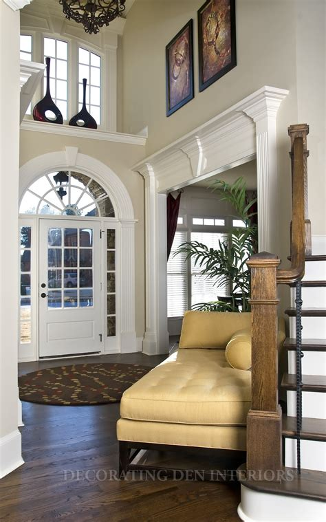 Decorating A Large Foyer home entryway decorating decorating ideas