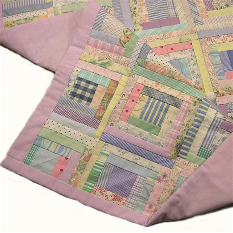 Handmade Patchwork Quilts - handmade patchwork quilt for cots by tigerlily jewellery