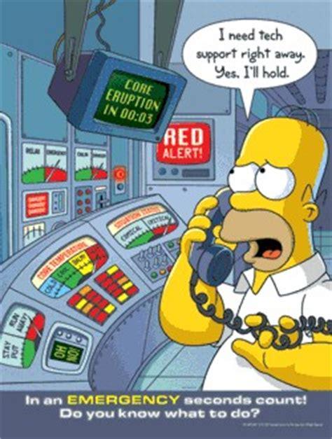 Floor Plan Of The Simpsons House by Carteles De Seguridad De Los Simpson