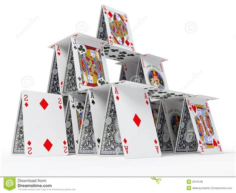 card house the card house royalty free stock photos image 2541548