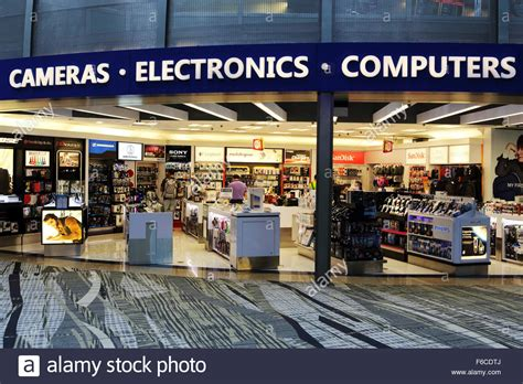 color tyme an electronics store at changi international airport in