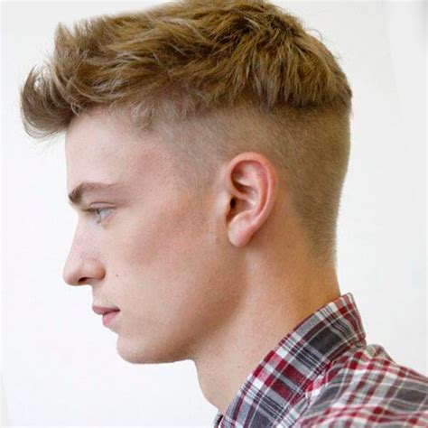 disconnected haircut for short hair undercut on men