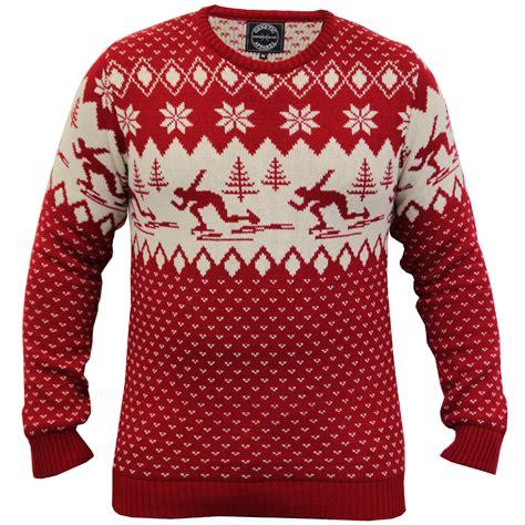 knitting pattern snowflake jumper mens ladies christmas xmas jumper snowflakes novelty