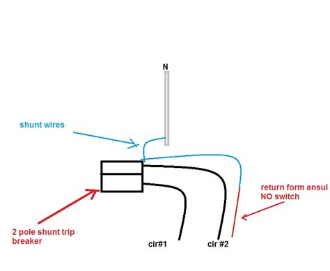 shunt trip breaker wiring diagram for ansul system get