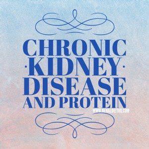 protein kidney disease chronic kidney disease and protein renal diet menu