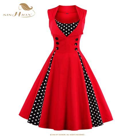 Patchwork Plus - sishion 2017 new 50s 60s retro vintage dress