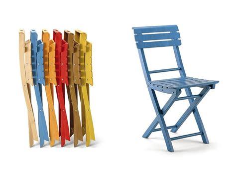 sedie richiudibili sedia pieghevole in legno vari colori idfdesign